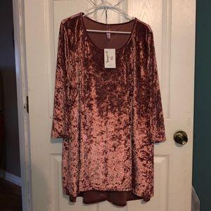 Other - Crushed velvet tunic